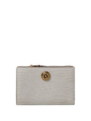 Textured Compact Wallet 500088214084