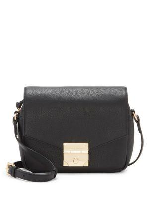 Stina Flap Leather Crossbody Bag 500088214103