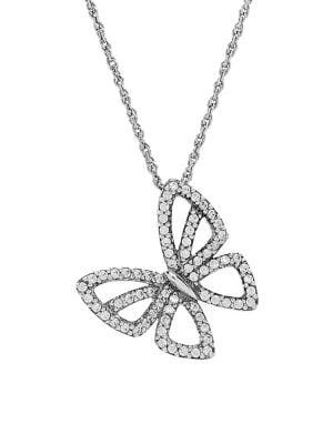 Diamond Butterfly Pendant...