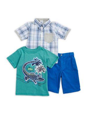Baby Boy's Lizard Three Piece Set 500088217409