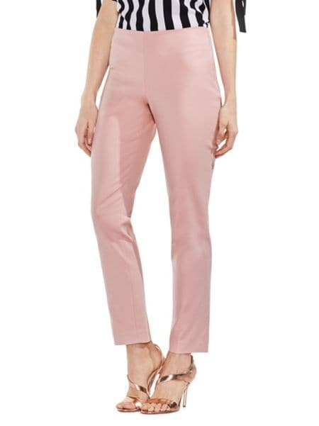 Slim Fit Doubleweave Pants by Vince Camuto