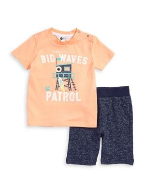 Baby Boy's Cotton Two-Piece...