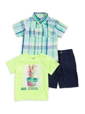 Little Boy's Pineapple...