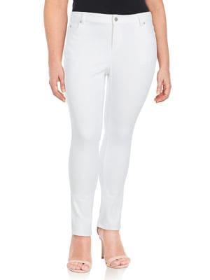 Plus High-Rise Skinny Jeans 500088225967