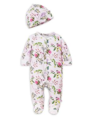 Baby Girl's Floral Footie...