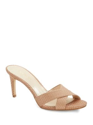 Allto Leather Sandals by Nine West