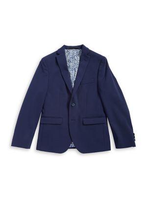 Boy's Notch Lapel Jacket...