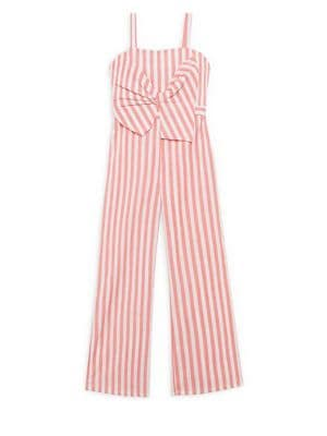 Girls Mable Lollipop Striped Jumpsuit