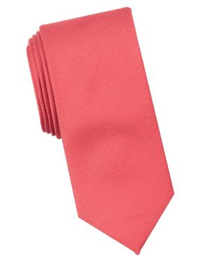 Overton Solid Silk Tie...