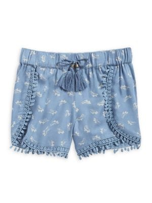 Girl's Tasha Floral Shorts...