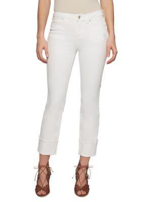 Plus Arrow Straight-Leg Jeans 500088250498