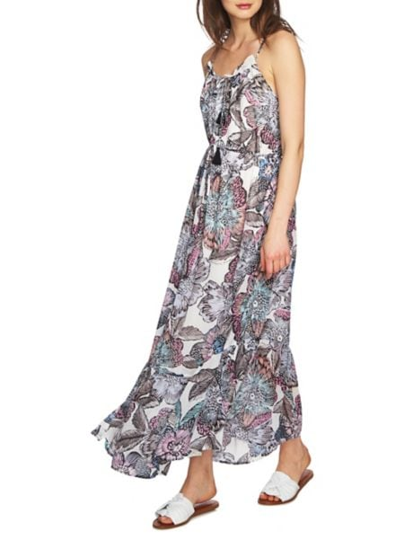 Sleeveless Tiered Maxi Dress by Michael Michael Kors
