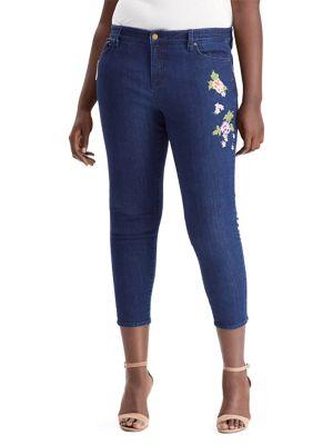 Plus Premier Skinny Cropped Jeans 500088263250