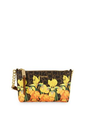 Iris Signature Floral Crossbody Bag 500088265933