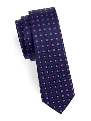 Boy's Box Silk Tie @...