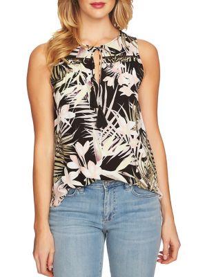 Pink Sands Soft Palms Blouse 500088273757