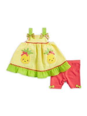 Little Girl's Pineapple...