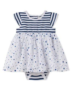 Baby Girl's Striped Bodysuit...