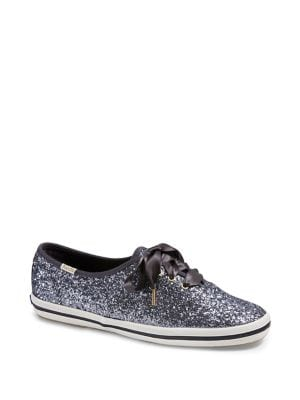 Keds X Kate Spade New York Champion Glitter Low-Top Sneakers 500088299614