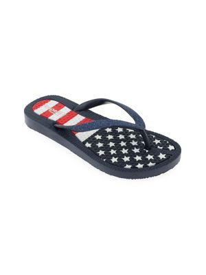 Girl's American Flag...