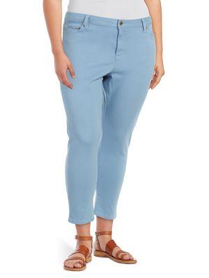 Plus Izzy Ankle-Length Skinny Jeans 500088304545