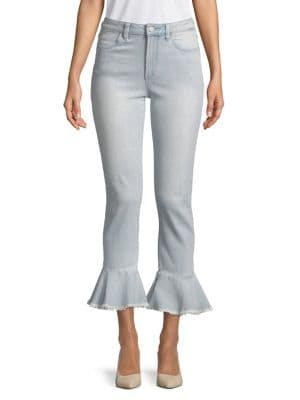 Flared High-Rise Jeans 500088347544