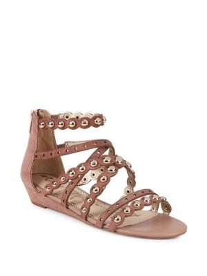 Dustee Studded Suede Sandals 500088347974