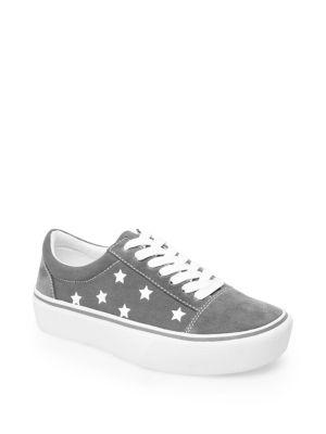 Emile Suede Platform Sneakers 500088350405