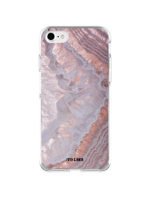 Stone Cold Fifth and Ninth Amethyst Agate iPhone 6/7/8 Case 500088352154