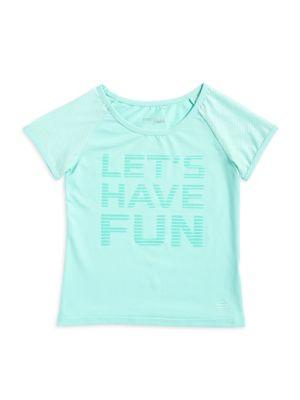 Girl's Knitted Slogan...