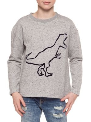 Boy's Dino Long-Sleeve...