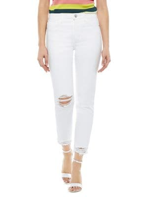 The Mary Jane Cropped Jeans 500088381277