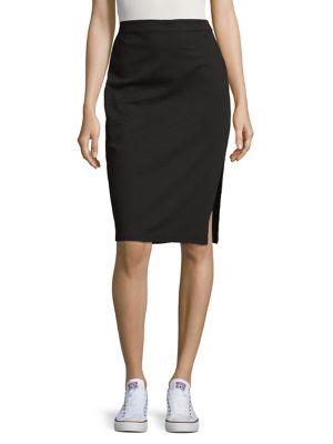 Stretch Pencil Skirt...
