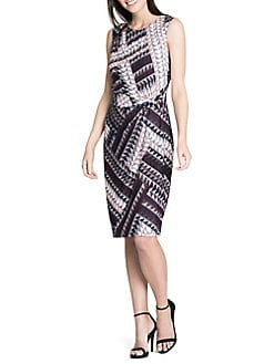 Dress for Women, Evening Cocktail Party On Sale, New Navy, polyester, 2017, 12 Michael Kors