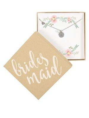 Bridesmaid Charm Bracelet