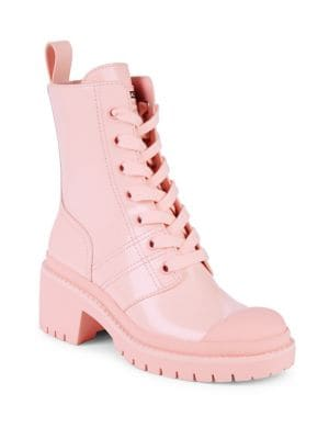 prices cheap price cheap sale wiki Marc Jacobs Pink Bristol Laced Up Boots where to buy cheap sale nicekicks eastbay for sale e0ut1UY