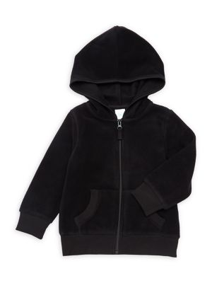 Little Boys Zip Fleece Hoodie