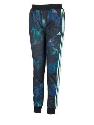 Girls Printed Tricot Jogger Pants