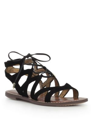 Gemma Suede Gladiator Sandals by Sam Edelman