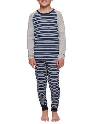 Boys TwoPiece Raglan Pajamas Set