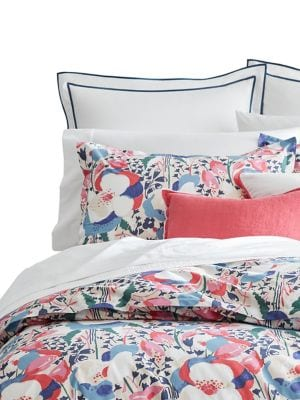 Floral 200 Thread Count Cotton ThreePiece Comforter Set