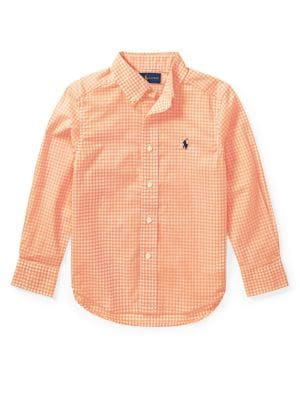 Little Boys Plaid Shirt
