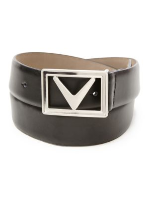 Golf Modern Chevron Leather Belt by Callaway
