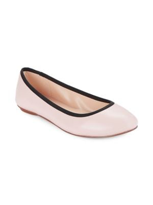 Leroux Leather Flats by Karl Lagerfeld Paris