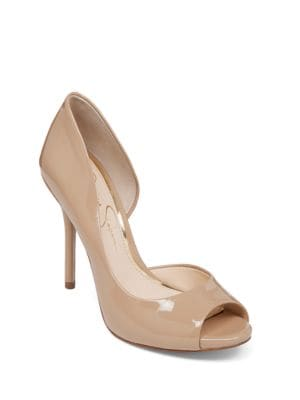 Bibi Peep-Toe Pumps by Jessica Simpson