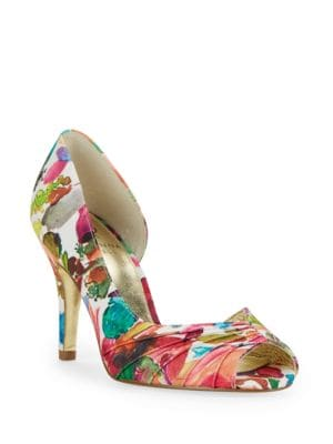 Flynn Peep Toe Pumps by Adrianna Papell
