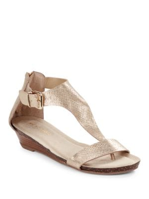 Great Gal Metallic Thong Sandals by Kenneth Cole REACTION
