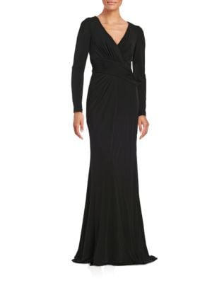 Draped Jersey Gown by Badgley Mischka