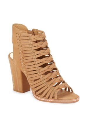 Amina Braided Nubuck Sandals by Dolce Vita