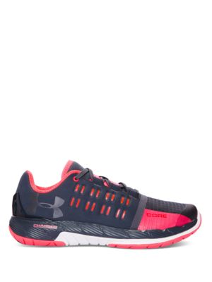 Womens Charged Core Lace-Up Sneakers by Under Armour